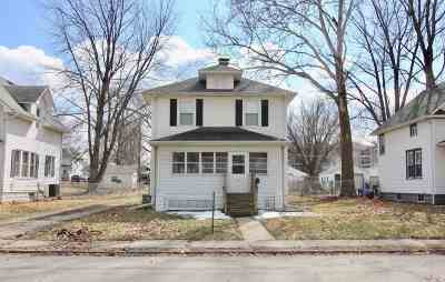 Davenport Single Family Home For Sale: 1437 W High Street