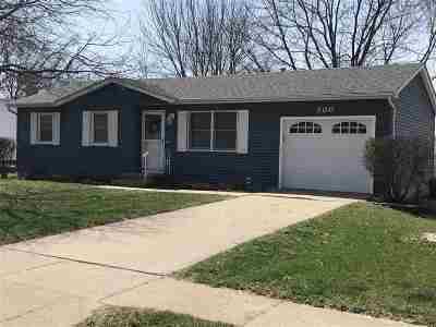 Eldridge Single Family Home For Sale: 300 N 9th St Street