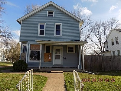 Davenport IA Single Family Home For Sale: $19,900