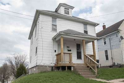 Davenport IA Single Family Home For Sale: $50,000