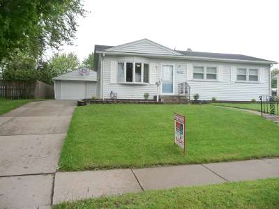 Davenport Single Family Home For Sale: 2715 W High Street