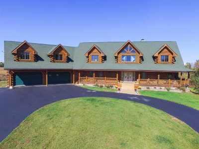 Garden Prairie Single Family Home For Sale: 10402 Lawrenceville Road