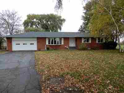 Boone County Single Family Home For Sale: 16931 Wyman School Road