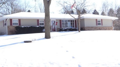 Rockford Single Family Home For Sale: 3341 Dallas Circle