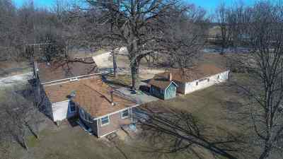 Stephenson County Single Family Home For Sale: 9639 River (34 Ac) Road