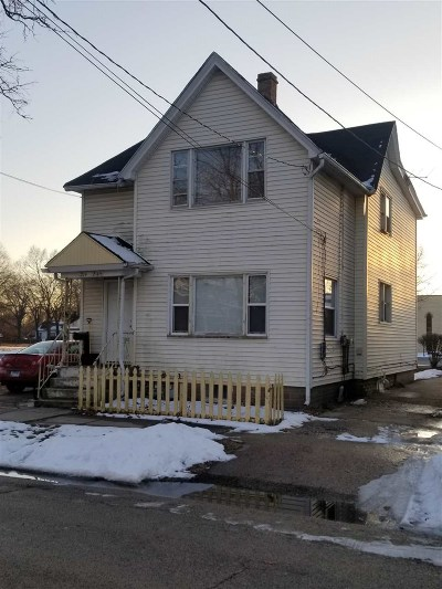 Belvidere Multi Family Home For Sale: 214 Webster Street