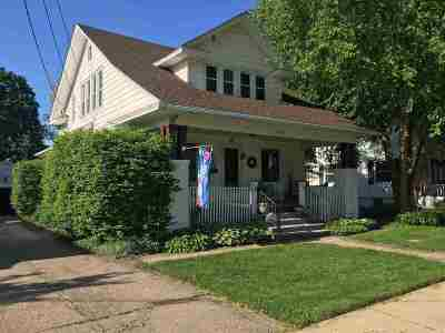 Byron Single Family Home For Sale: 514 W 3rd Street