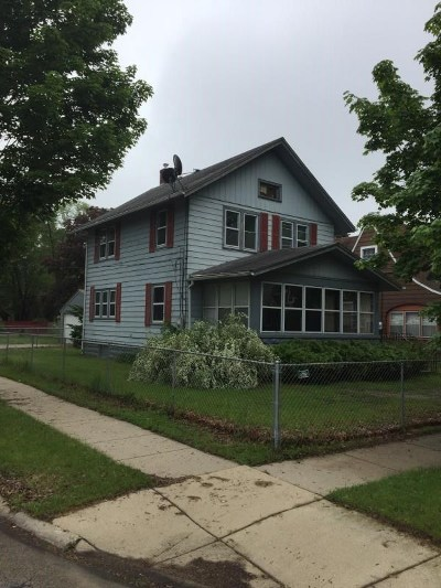 Rockford IL Single Family Home For Sale: $65,000