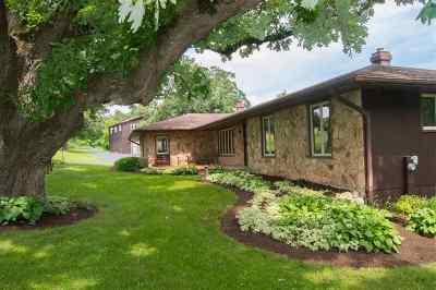 Ogle County Single Family Home For Sale: 792 E Lightsville (38+ac) Road