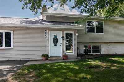 South Beloit Single Family Home For Sale: 5637 Kutzke Parkway