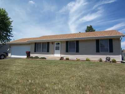 South Beloit Single Family Home For Sale: 5885 Reidenbach Road