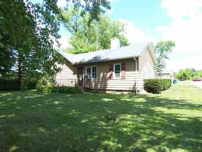 South Beloit Single Family Home For Sale: 1779 Fisher Road