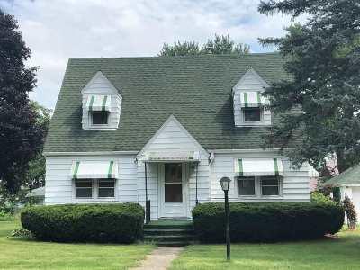 Winnebago Single Family Home For Sale: 309 N Benton Street