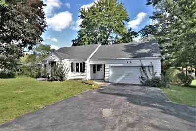 Winnebago County Single Family Home For Sale: 4330 Hononegah Road