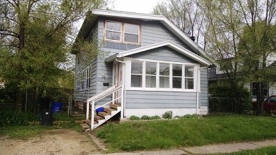 Rockford IL Single Family Home For Sale: $47,000