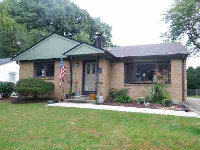 Rockford Single Family Home For Sale: 1511 Stratford Avenue