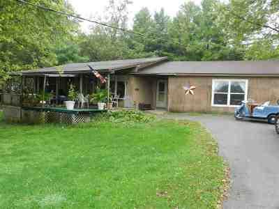 Stillman Valley Single Family Home For Sale: 8330 N Kishwaukee Road
