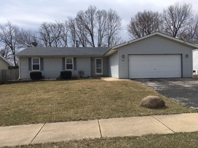 Rockford Single Family Home For Sale: 2631 Bluffside Drive