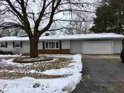 Winnebago Single Family Home For Sale: 507 S Seward Street