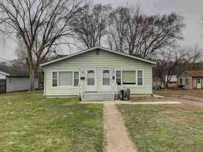 South Beloit Single Family Home For Sale: 1408 Hayes Avenue