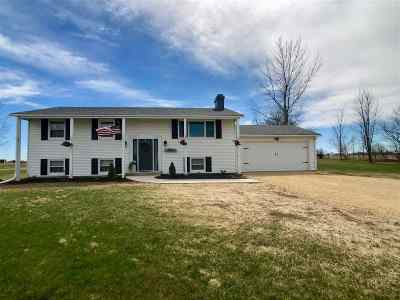 Ogle County Single Family Home For Sale: 12521 E High Road