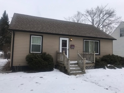 Rockford IL Single Family Home For Sale: $52,900