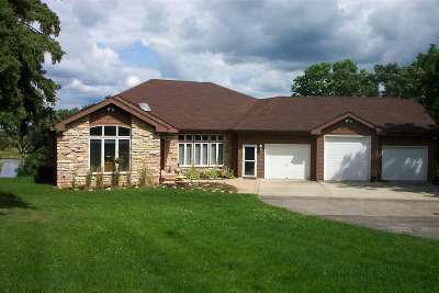 Stephenson County Single Family Home For Sale: 4750 W Stephenson Street Road