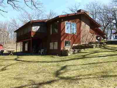 Cherry Valley Single Family Home For Sale: 5760 Rotary Road