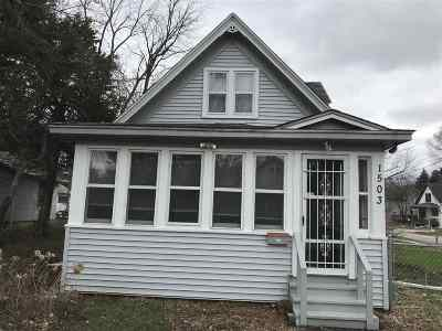Rockford Single Family Home For Sale: 1503 Greenwood Avenue