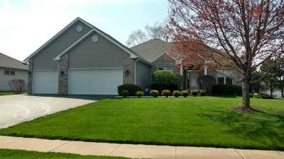 Rockford Single Family Home For Sale: 1091 Brook Hill Close