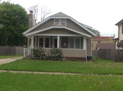 Rockford IL Single Family Home For Sale: $87,000