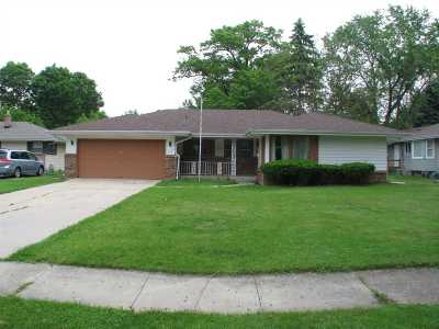 Rockford IL Single Family Home For Sale: $119,900