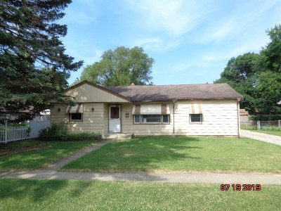 Loves Park Single Family Home For Sale: 6316 John Street