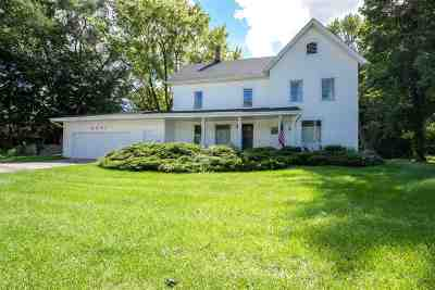 Rockford Single Family Home For Sale: 6591 Newburg Road
