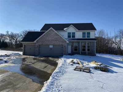 Belvidere Single Family Home For Sale: 10090 Creek Ridge Trail