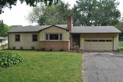 Rockford Single Family Home For Sale: 2015 Hillside Drive