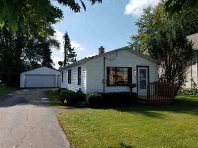 South Beloit IL Single Family Home For Sale: $59,900