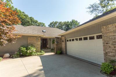 Michigan City Single Family Home For Sale: 3341 Lasalle Trail