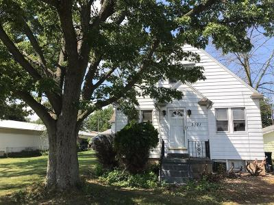 Michigan City Single Family Home For Sale: 3021 Wabash Street