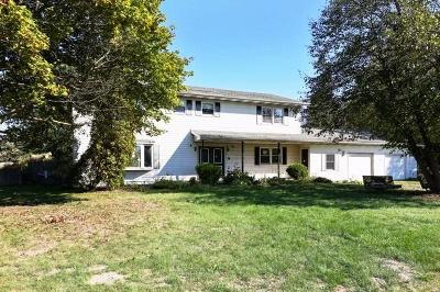 Michigan City Single Family Home For Sale: 1515 North County Line Road