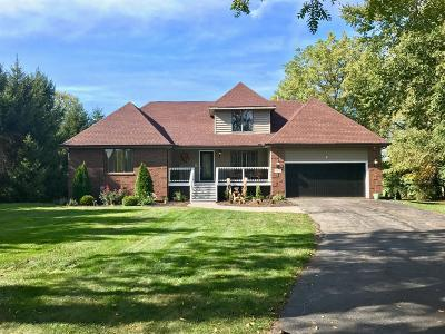 Westville Single Family Home For Sale: 587 Pheasant Drive