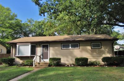 Michigan City Single Family Home For Sale: 609 White Oak Drive