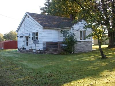 La Porte, Laporte Single Family Home For Sale: 3607 South Hwy 104