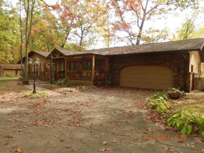 La Porte, Laporte Single Family Home For Sale: 3833 North 600 West