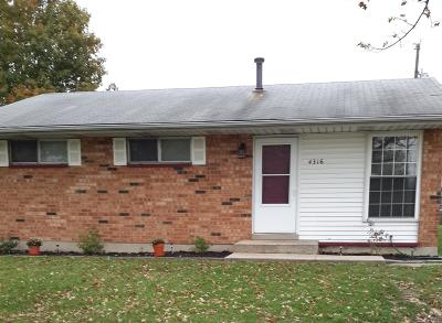 Michigan City Single Family Home For Sale: 4316 South Ohio Street