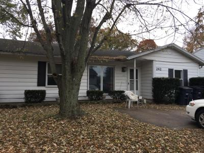 Michigan City Single Family Home For Sale: 242 Southwood Drive