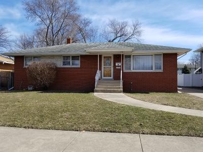 Munster Single Family Home For Sale: 8143 Kraay Avenue