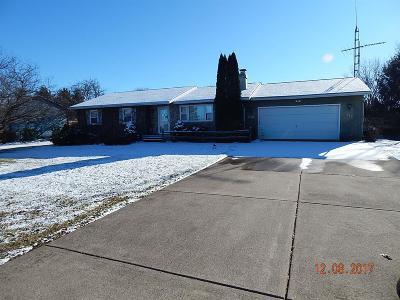 Laporte, La Porte Single Family Home For Sale: 2812 East 100 South
