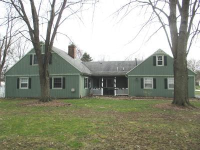 Westville Single Family Home For Sale: 799 Dodge Trail