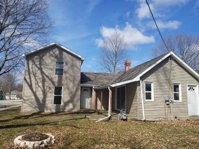 Westville Single Family Home For Sale: 208 Plain Street